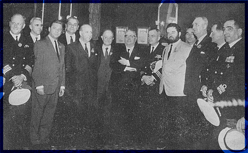 Submariners Convention 1965 in Venice / Italy