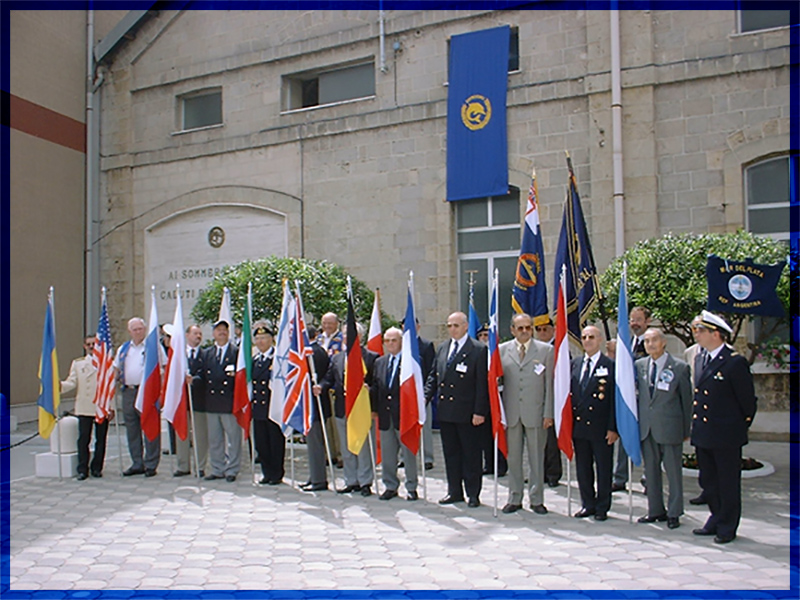 Submariners Convention 2001 in Taranto / Italy