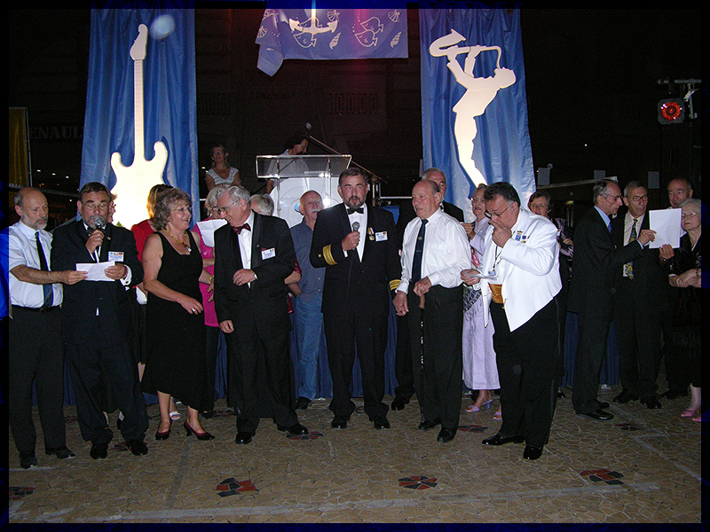 Submariners Convention 2007 in Cherbourg / France
