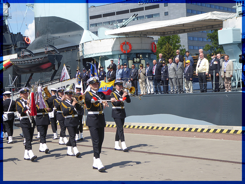 Submariners Convention 2018 in Gdansk / Poland